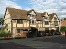 Shakespeare's birthplace, Stratford Upon Avon, England